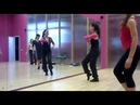 Strip dance/Стрип-пластика- семинар Марины Шешуковой/ Разучивание комбинации, ч. 1/