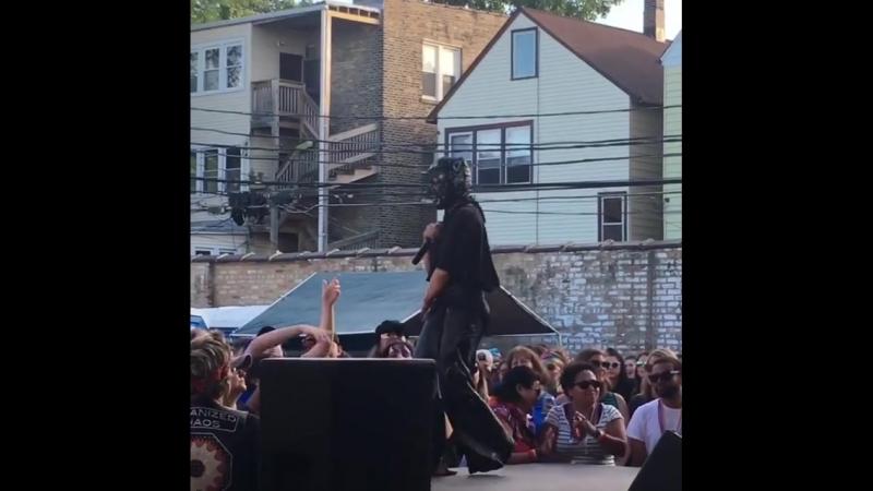 Выступление на фестивале Backlot Bash