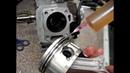 Двигатель Honda GX160 сборка новой поршневой группы The Honda GX160 engine Assembly new piston group