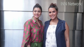 Neha Dhupia And Kajol Spotted Before Recording For #NoFilterNeha Season 3