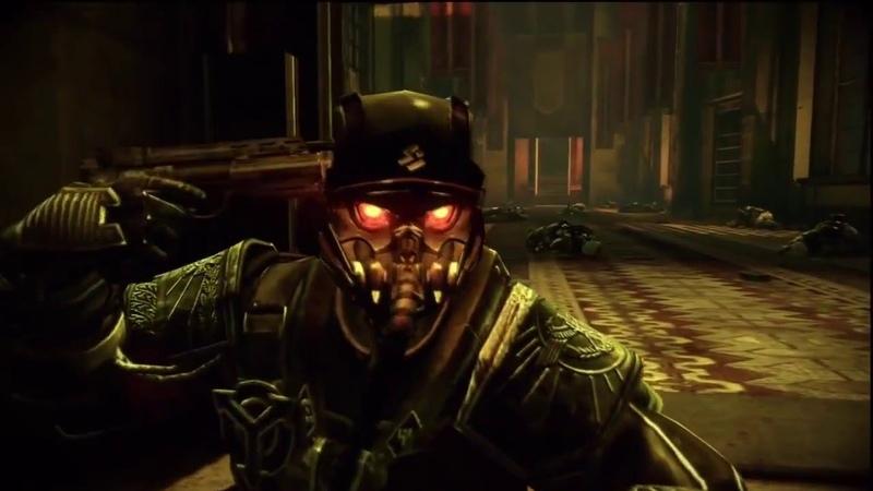 Killzone 2 Colonel Radec committing suicide