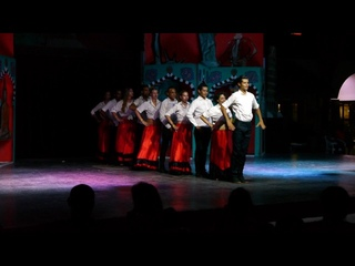 Samira club animation team dancing around the world