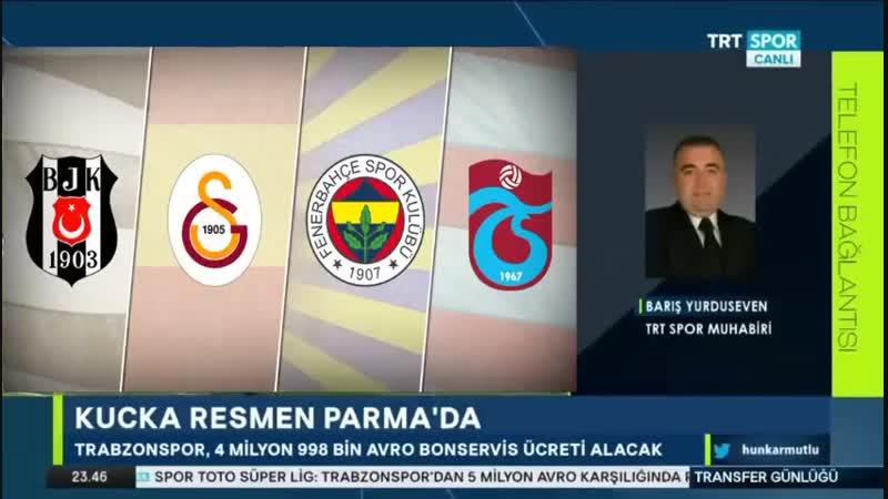 Fenerbahçe ve Trabzonspor Transfer Günlüğü ¦ Trtspor 15 Ocak