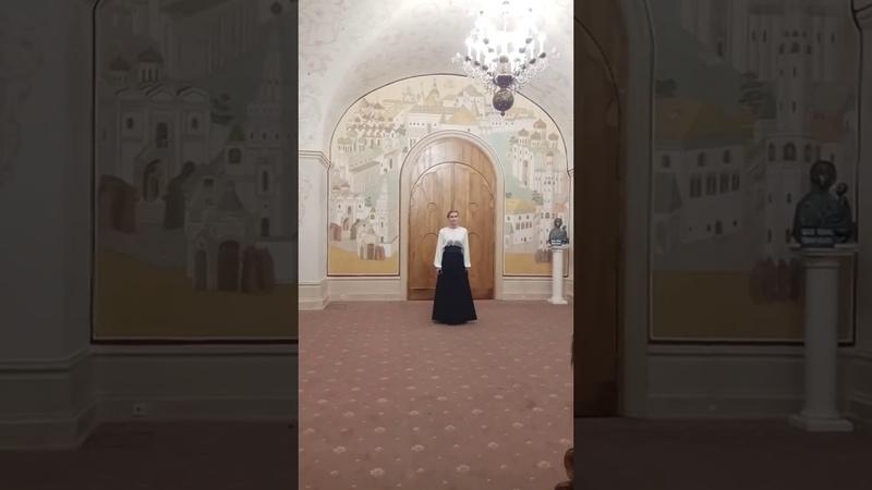 Бадикова Милана Вьюн над водой XXVII Рождественские Чтения 2019