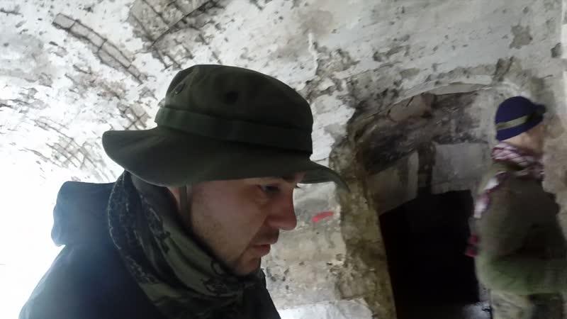 Исследуем Южный форт на Аскети (Спилии). Нахожу немецкую винтовочную гильзу и пулю на тропе. (ВИДЕО: Шахов А. В.) 16.11.2018г.