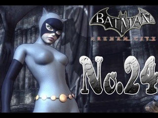 Batman arkham city - Catwoman goes after Puke Face
