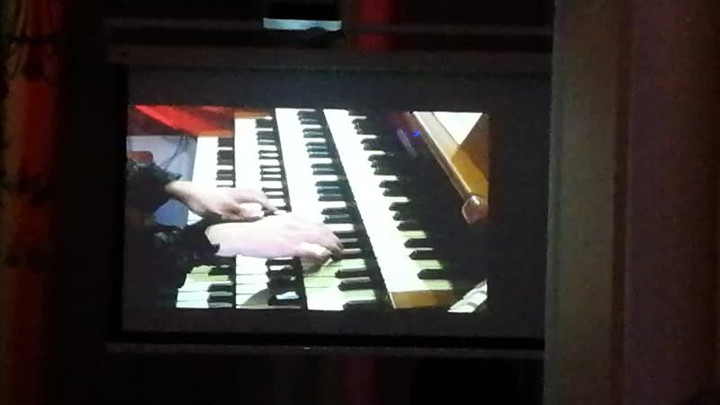Jean Michel Jarre Oxygene 2 organ