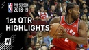 Toronto Raptors vs Utah Jazz - 1st Qtr Highlights | October 2, 2018 | 2018 NBA Preseason