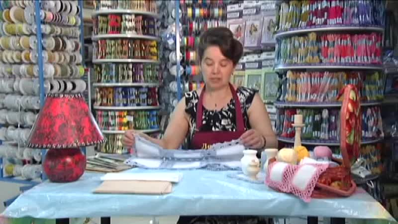 Вязание крючком скатерти в стиле Печворк-Видео Мастер-класс
