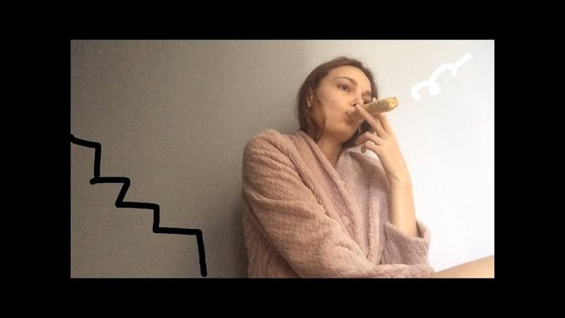 Разговор с подругой на лавке/курим блины/високосный год