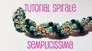 ENG SUBS DIY TUTORIAL SPIRALE DI PERLINE SEMPLICISSIMA ROPE SPIRAL STITCH TUTORIAL