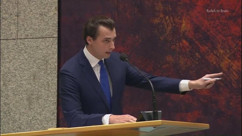 Baudet FvD 'Daar zit ze Kajsa Ollongren de sluipmoordenaar van de democratie' Politiek YouTube