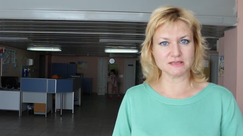 Инна Антипова библиотекарь библиотеки им. Аксакова УОДКБ