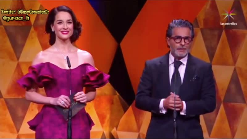 Сусана Гонсалес и Рауль Араиса объявляют номинантов премии TvyNovelas2019