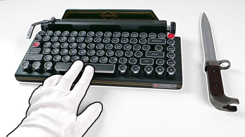 $900 Resident Evil 2 Premium Edition TYPEWRITER Unboxing (SOLD OUT) Biohazard 2 RE2 Z Version