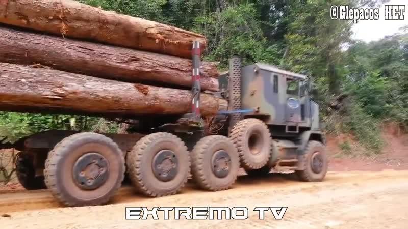 ESPECIAL CAMINHÕES INSANOS _ OSHKOSH M1070 8X8 - EXTREMO
