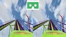 Roller Coaster 29 3D Side by Side VR box google cardboard
