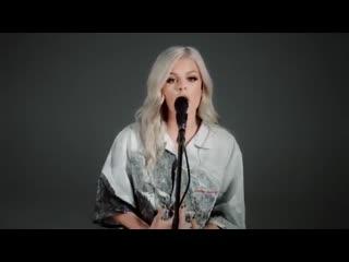 Шикарный вокальный кавер Rihanna - Unfaithful в исполнении Davina Michelle