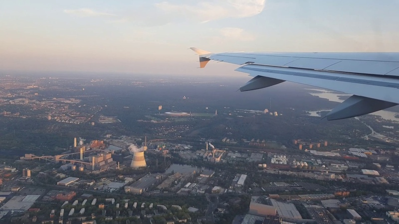 Berlin Takeoff from Berlin Tegel to Frankfurt Airport with A319 100 Lufthansa