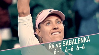 Angelique Kerber's Road to the BNP Paribas Open Final