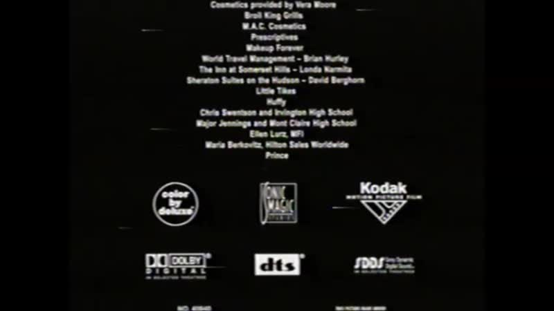 Movie End Credits 724 The Cookout