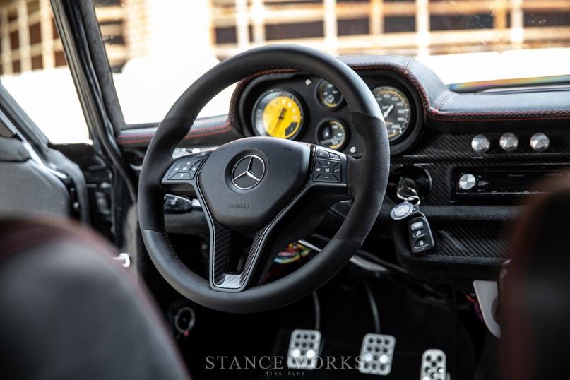 Mercedes-Benz W108 с турбированным 5.3-литровым LS, изображение №15