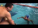 Мастер класс с Антоном Чупкым и командой Swimtraining Плывем упражнение два удара ногами один гребок руками