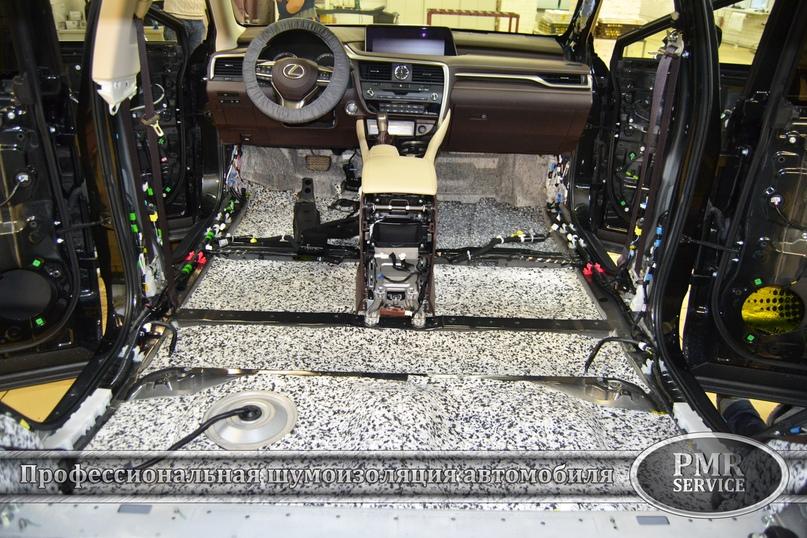 Шумоизоляция Lexus LX, изображение №3