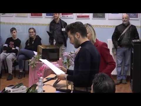 """Roseto - Ginoble tra gli studenti del """"Moretti"""""""