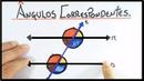 ÂNGULOS CORRESPONDENTES 2 Retas Paralelas e 1 Transversal
