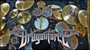 DRAGONFORCE THROUGH THE FIRE AND FLAMES DRUM COVER PEDRO TINELLO