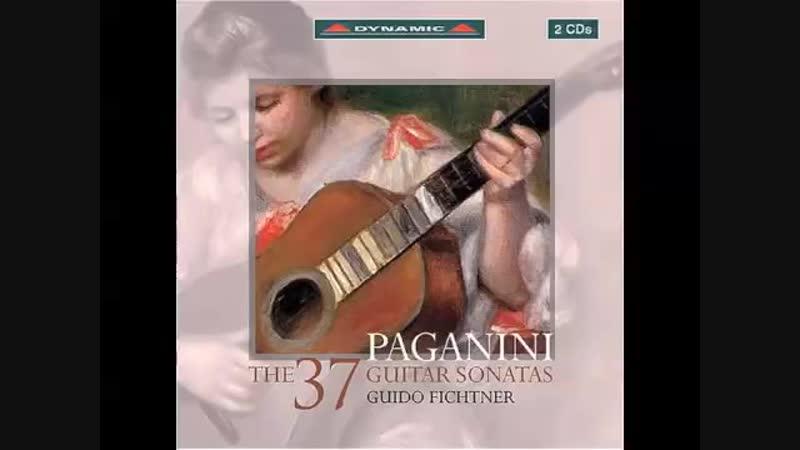 Paganini - The 37 guitar sonatas Guido Fichtner