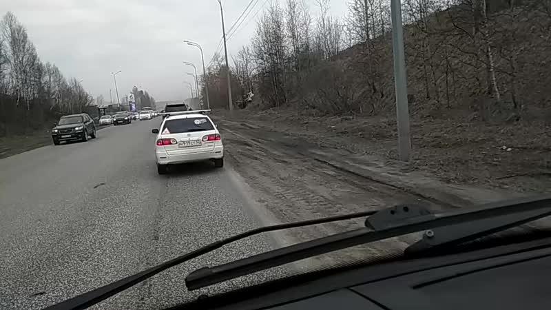 На Ильинском шоссе опять приключилась беда (ВИДЕО).mp4