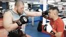Костя Цзю учит бить Макса Новоселова Бокс против MMA