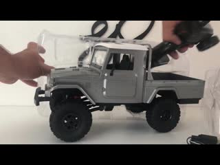 Toyota BJ 45 First look. Amazing scale details! MN45 RTR+RC models