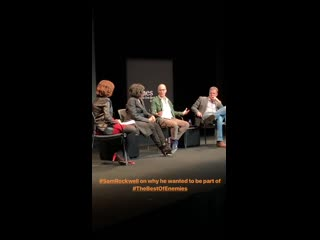 The best of enemies l Screening and Talk (Sam Rockwell, Taraji P. Henson, Robin Bissell)
