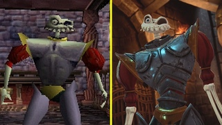MediEvil Remastered vs Original Graphics and Sound Comparison  4K