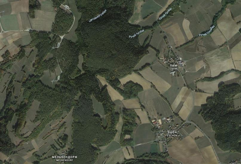 Изображение с Google Карты