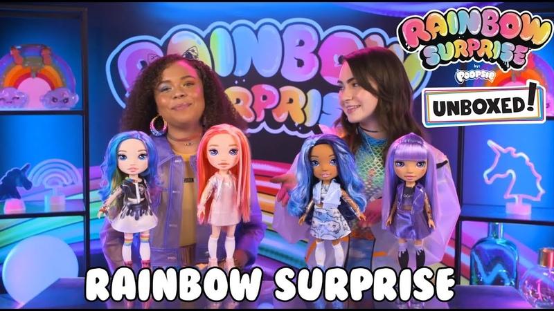 UNBOXED Rainbow Surprise by Poopsie Episode 1 Rainbow Surprise Dolls