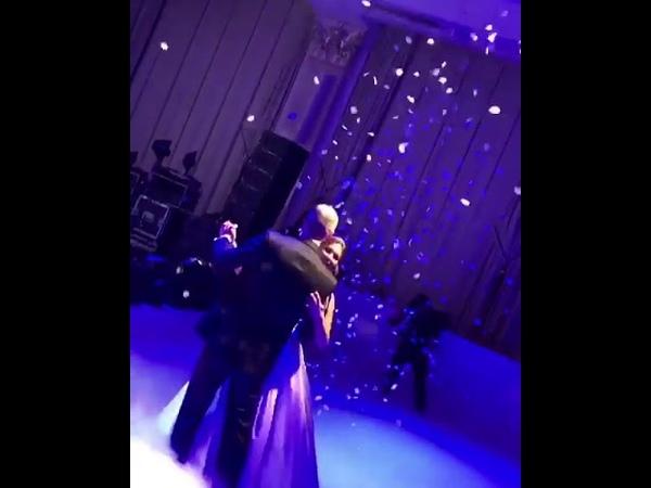Дочь Александра Серова показала свой свадебный танец
