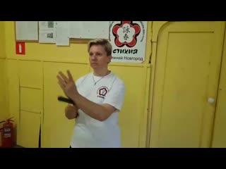 Stikhiya Wing Chun. Цзам Сао .  Метод отработки.