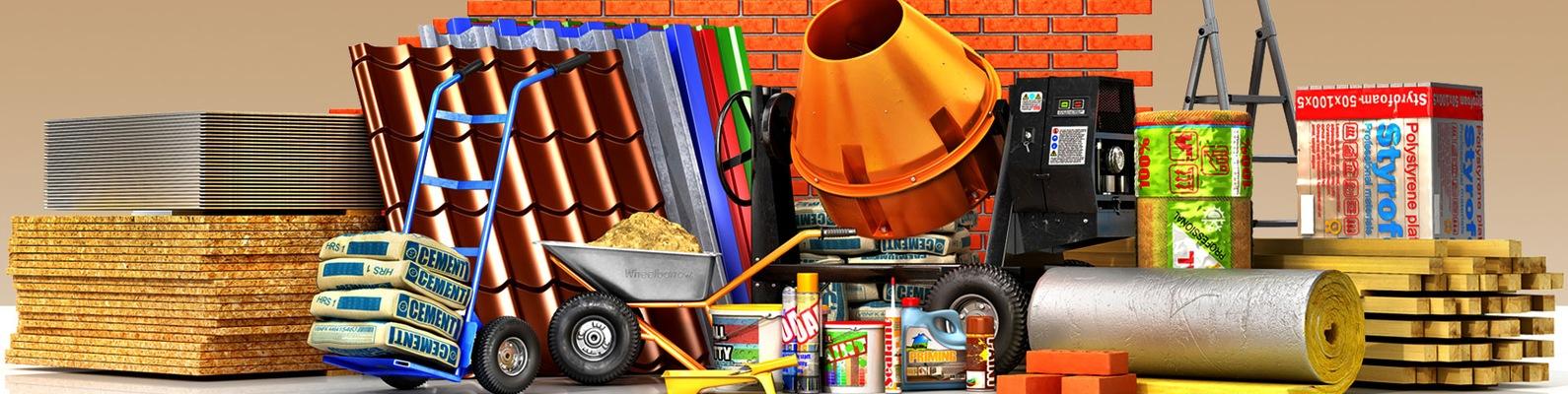 Все для строительства и ремонта в базе строительных материалов и инструментов «Куб»