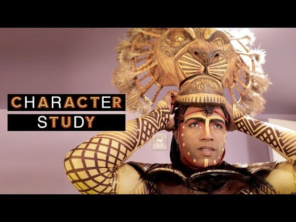 Character Study: See THE LION KING Broadway Star L. Steven Taylor Turn Into Mufasa