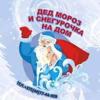 Дед Мороз и Снегурочка на дом Пинск