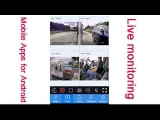 Demo of Mobile Apps for Android/Mobile dvr/Mdvr