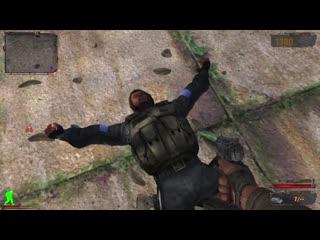 лютый Димастер прыгает с крыши.mp4