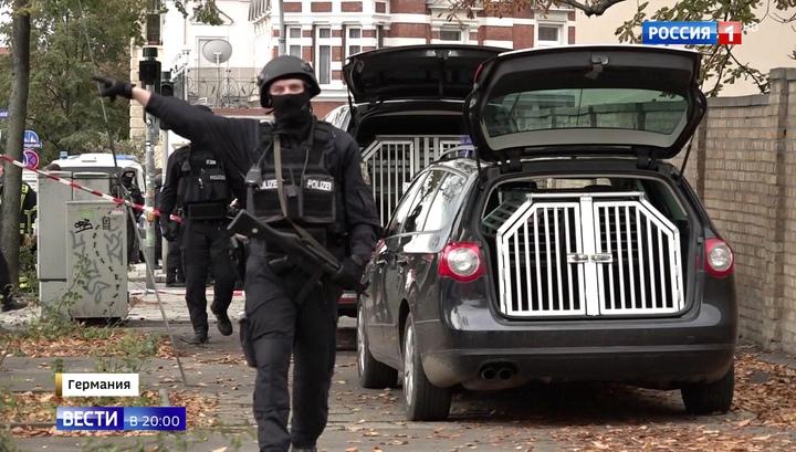 Кровавая бойня в Галле: один из нападавших националистов задержан полицией