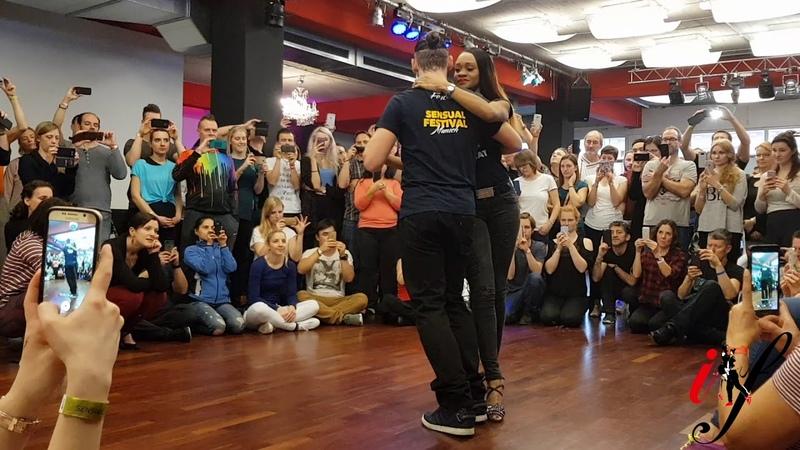 Isabelle and Felicien *Johnny Ramos ft Dji Tafinha and DJ Palhas Jr Ta bom* Kizomba dance