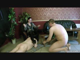 Madame Sarka: Two Slaves For My Pleasure