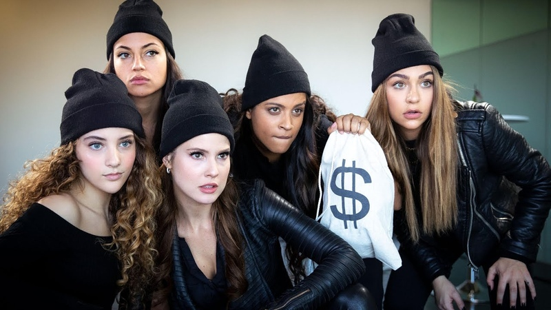 Bank Robbery Gone Wrong ft. Amanda Cerny, Inanna Sarkis, Sofie Dossi Andrea Russett